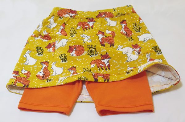 girls skort sewing pattern