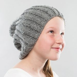 knitting pattern for childs beanie