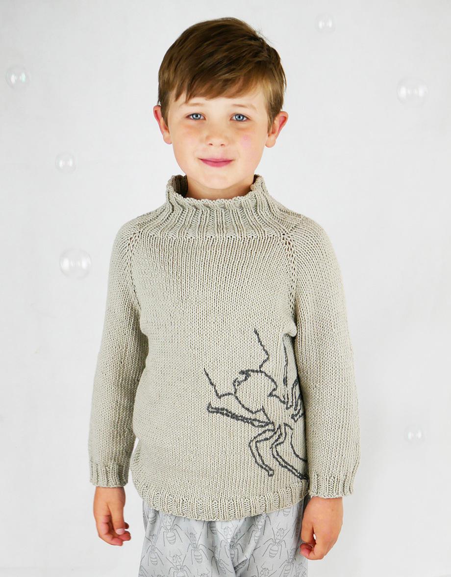 ants sweater pattern
