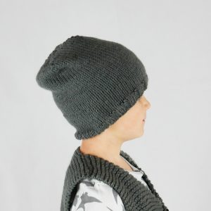kids beanie knitting pattern