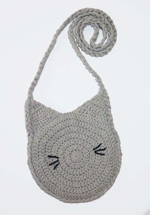 crochet pattern for cat bag