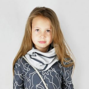 kids cowl sewing pattern