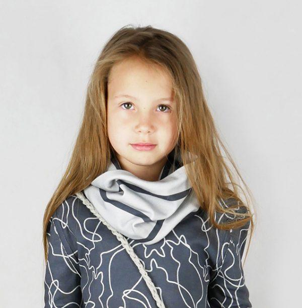 kids cowl sewing pattern