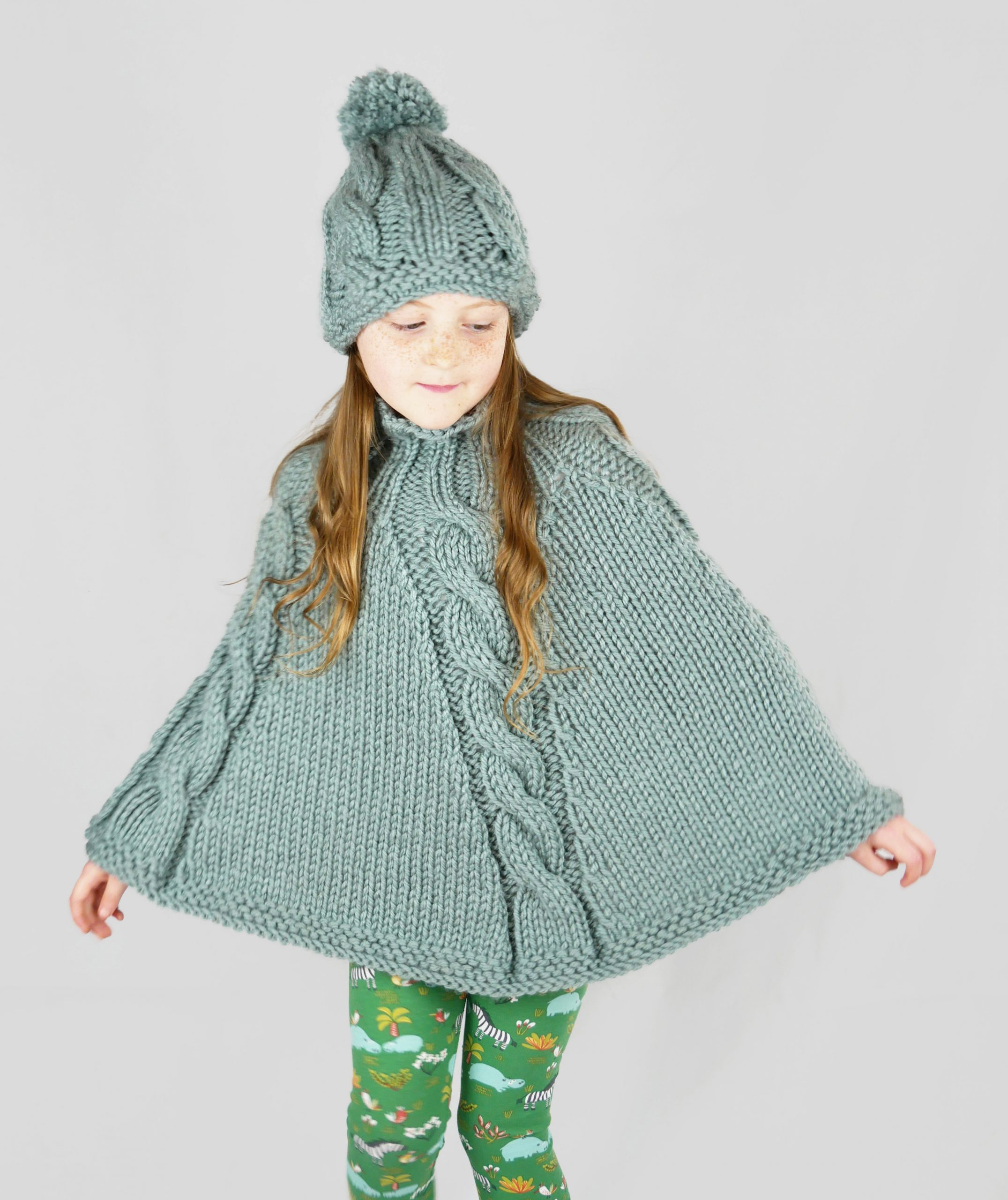 poncho knitting pattern