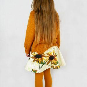 fall sweater and skirt pattern