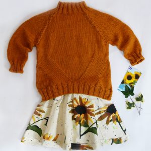 girls skirt and sweater patterns