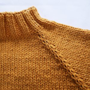 close up of girls sweater