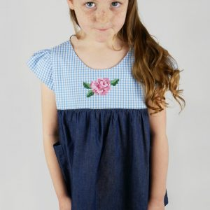 kids tunic dress sewing pattern