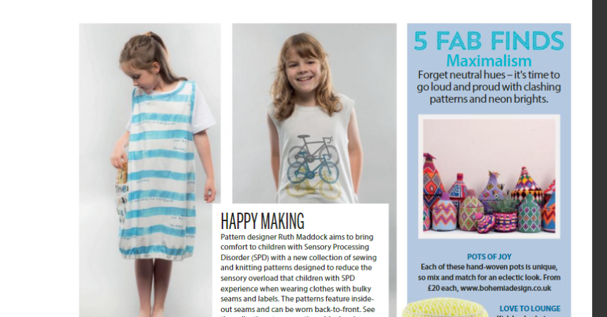 Sewing Patterns For Children's Clothes | Ruth Maddock Makes