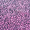 pink with dots cotton jersey