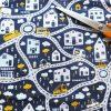 street scene print fabric