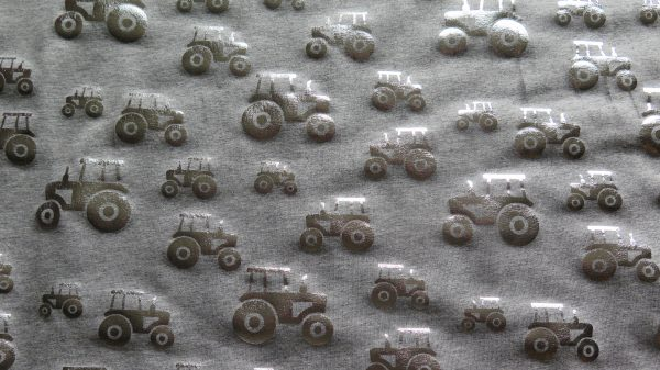 silver foil tractors